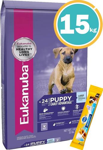 Imagen 1 de 7 de Comida Eukanuba Perros Cachorros Grandes + Regalo