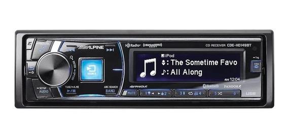 Estéreo para auto Alpine CDE-HD149BT negro