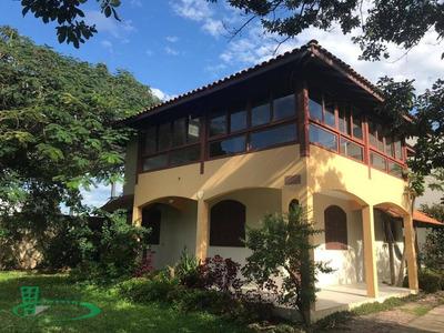 Casa Com 5 Dormitórios Para Alugar, 227 M² - Campeche - Florianópolis/sc - Ca0388