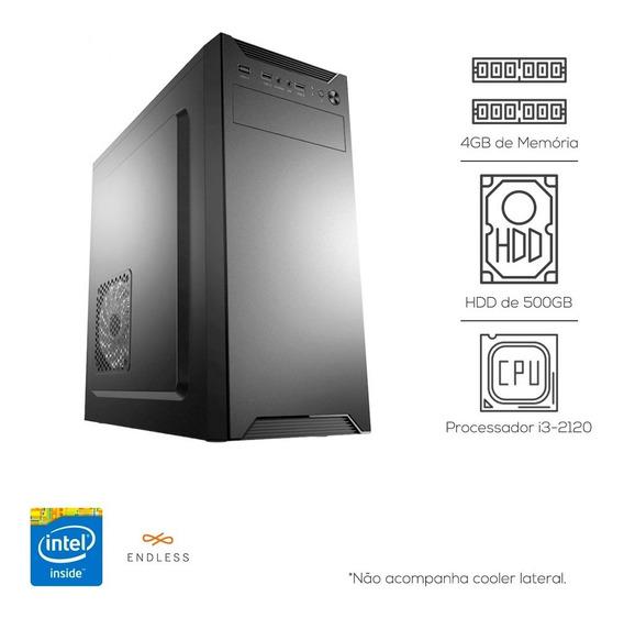 Cpu Pc Intel Core I3 + 4gb Ddr3 + Hd 500gb