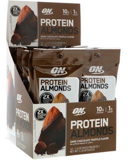 Caixa 12 Unidades Protein Almonds Val. 04/05/2019