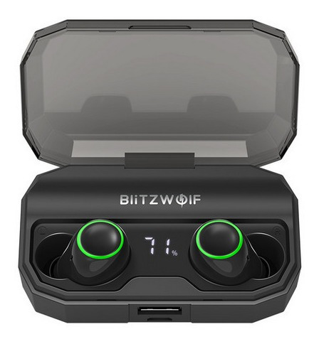 Fone Ouvido Blitzwolf Bwfye3s Bluetooth 5.0 Display Digital