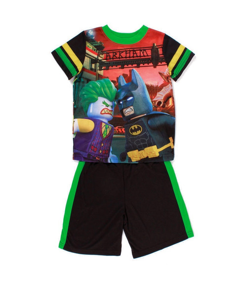 Pijama Para Niño Lego Batman Arkham City Con Short