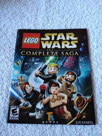 Manual Do Game Lego Star Wars The Complete Saga Ps3 *** Leia