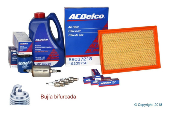 Kit Afinacion Aceite 20w50 Sl Multigrado Corsa 2002 A 2009