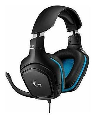 Imagen 1 de 2 de Logitech 981 000769 G432 Surround Gaming Headset (981000769)