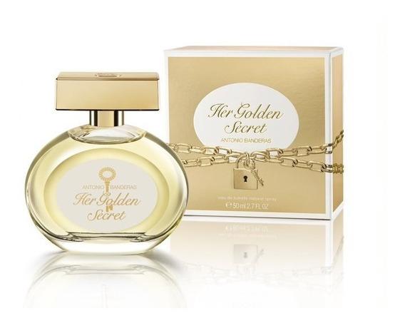 Perfume Feminino Antonio Banderas Her Golden Secret 50ml