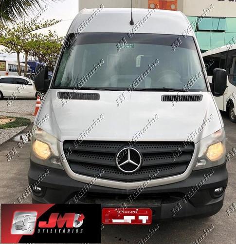 Imagem 1 de 15 de M.benz Sprinter Cdi 415 Ano 2017  Teto Alto Luxo Jm Cod 761