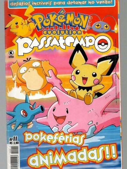 3 Pokémon Evolution E Passatempo