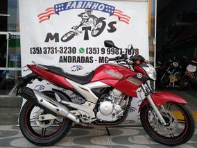 Yamaha Fazer 250 2011 Vermelha Novíssima!!!