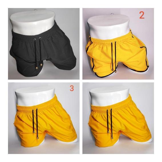 46c570f808e6 Pantalonetas Baño Hombre Cortas - Ropa y Accesorios Amarillo en ...
