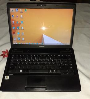 Notebook Toshiba Satélite C645 14 , 6gb, 120gb Ssd, 2.13ghz