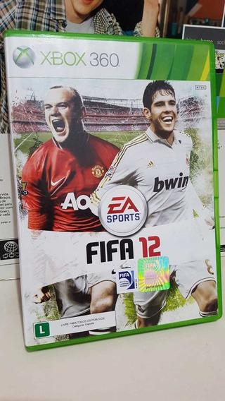 Fifa 12 Midia Física Xbox 360 Original Pronta Entrega