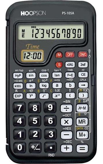 Calculadora Cientifica Hoopson - 56 Funções - Ps-105a