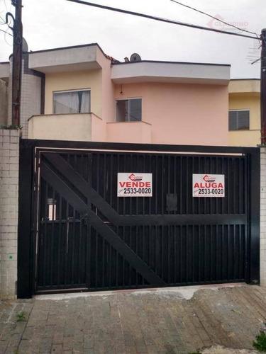 Sobrado Com 2 Dormitórios À Venda, 80 M² Por R$ 420.000,00 - Vila Formosa - São Paulo/sp - So0371