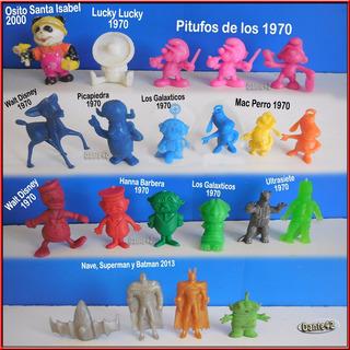 Dante42 Lote 21 Muñecos Miniaturas Variados 1970