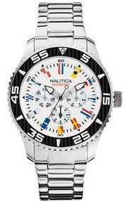 Relógio Nautica Flags A14630g - Menor Preço Do Ml!