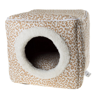 Petmaker Cat Pet Bed Cave, Indoor Enclosed Covered Cavern/ho