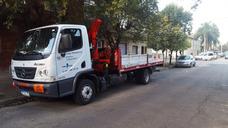 Alquiler Camión Con Hidrogrua - Pluma Hidráulica