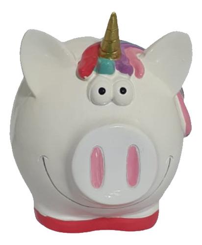 Cofrinho Porquinho Unicornio Fofinho