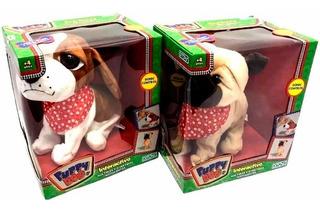 Perro Mascota Interactivo Puppy Ditoys Ladra Gruñe Niño Dog