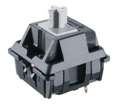 2 Switch Cherry Mx Grey Rapidfire Para Teclado Mecanico