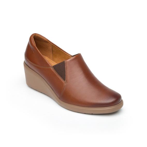 Zapato De Confort Casual Flexi Dama 101501 Café