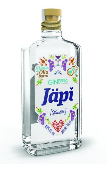 Ginebra Japi Mexicano Hidalgo 45° Artesanal Gin