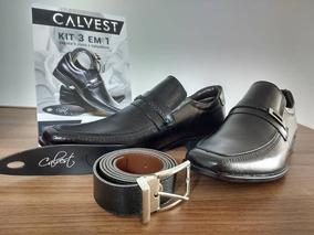 a89df6a93a4e3 Sapato Social Masculino Calvest Envernizado - Sapatos no Mercado ...
