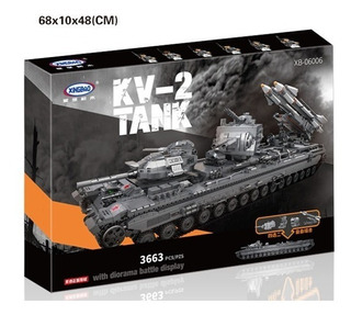 Tipo Lego Tanque Bloques