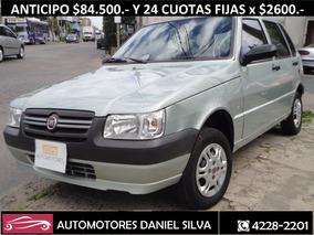 Fiat Uno Fire 1.3 5ptas 2010 Unica Mano Anticipo $84.500.-