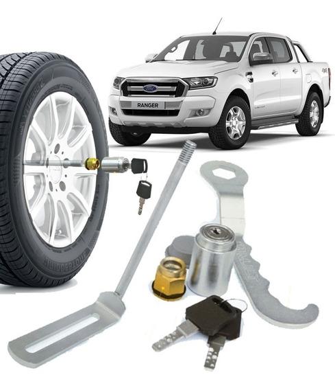 Trava Para Segurança De Estepe Modelo Ford Ranger 2013/18