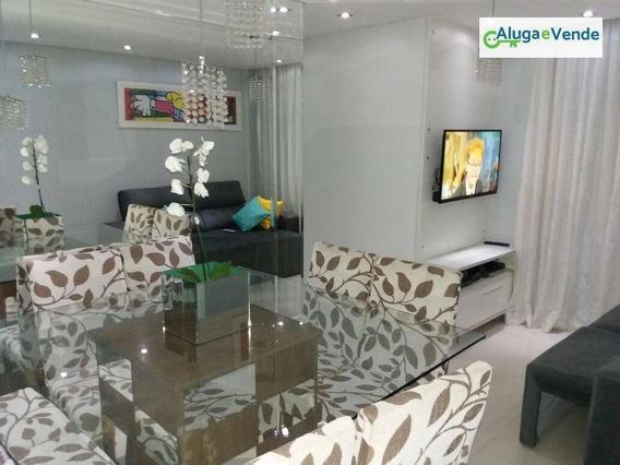 Apartamento Com 3 Dormitórios 1 Suíte À Venda, No Condomínio Shop Club61 M² Por R$ 310.000 - Vila São João - Guarulhos/sp - Ap0103