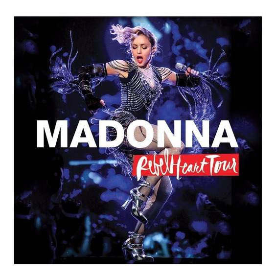 Dvd Madonna Rebel Heart Tour En Stock Nuevo Musicanoba