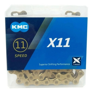 Corrente Kmc X11 Gold 118 Elos 11v Sram/shimano Original