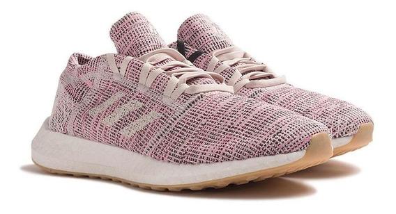 Tênis Runnind adidas Feminino Pureboost Go B75824 Rose