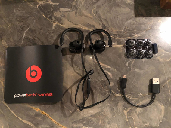 Fones De Ouvido Powerbeats 3 Wireless - Preto - Apple