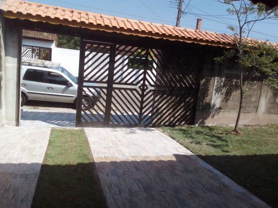 Casa Térrea Peruibe - 04 Quartos- Churrasqueira - Lado Praia