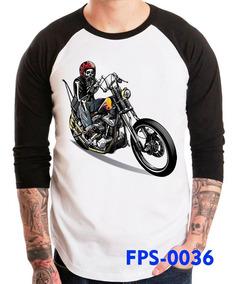 Playeras De Motos Biker Calaveras Harley Y Mas