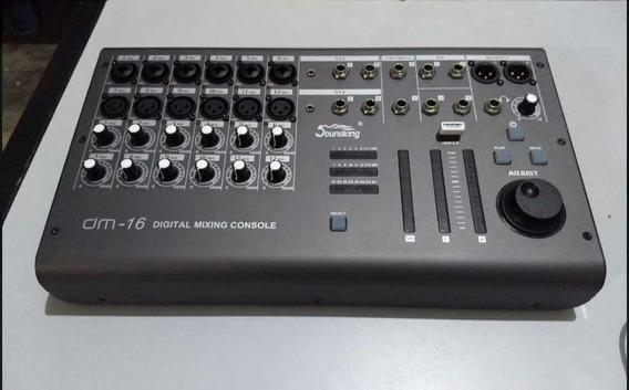 Mesa De Som Digital Soundking Dm16 (nova A Pronta Entrega)