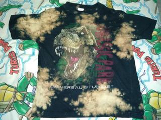 Playera Original Jurassic Park Vintage T-rex Infantil L
