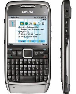 Nokia E71 Preto - Desbloqueado, 3.2mp, Flash, Symbian - Novo