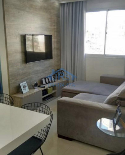 Apartamento Com 2 Dormitórios À Venda, 45 M² Por R$ 265.000,00 - Vila Da Oportunidade - Carapicuíba/sp - Ap4181