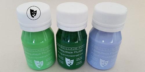 Body Paint Al Agua Maquillaje Titi 30cc - Verde Claro