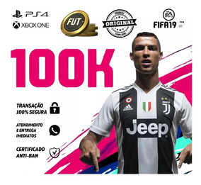 Fifa 19 Coins Ps4 100k Ultimate Team Fut Moedas Enviando