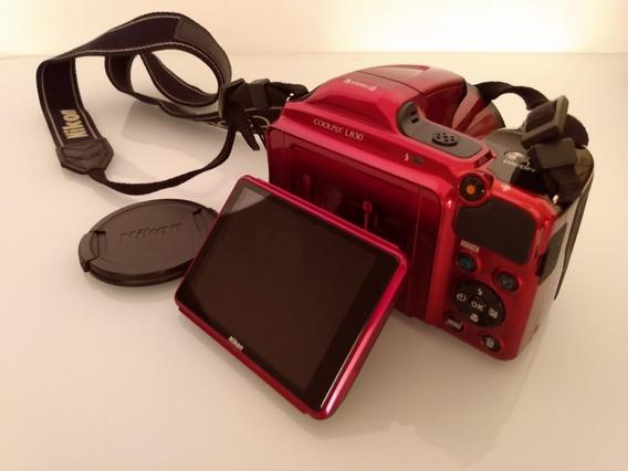 Câmera Nikon Semi-profissional Nikon L830