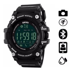 Relógio Masculino Esportivo Skmei 1227 Com Bluetooth