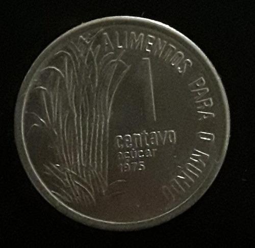 Imagem 1 de 2 de Moeda 1 Centavo Ano 1975 Fao