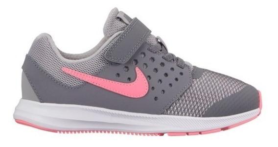 Tenis Nike Infantil Juvenil Downshifter 7 Tam 27 Ao 31 +nf-