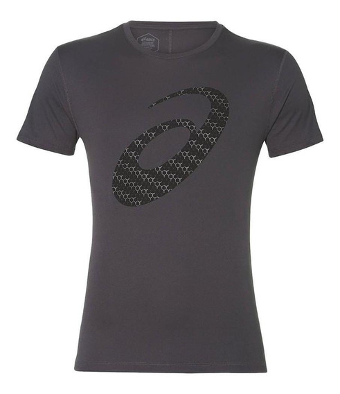 Asics Camiseta Silver Graphic Hombre - Gris